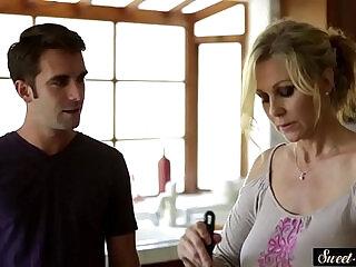stepson | Stepson sex clips: stepmom seduction and hardcore fucking